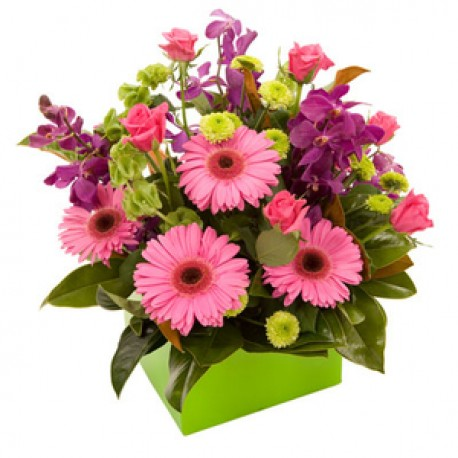 Vibrant Mothers Day Hand Tied