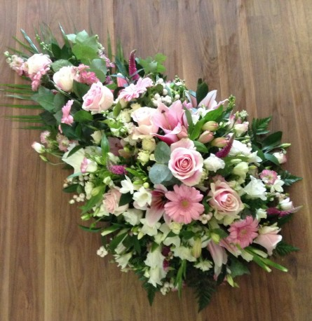 Lily, Rose and Freesia Spray