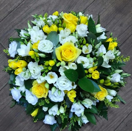 Yellow Rose and Freesia Posy