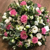 Pink Rose and Freesia Posy