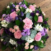 Lilac and Pink Posy