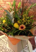 Rustic Autumn Hand Tied